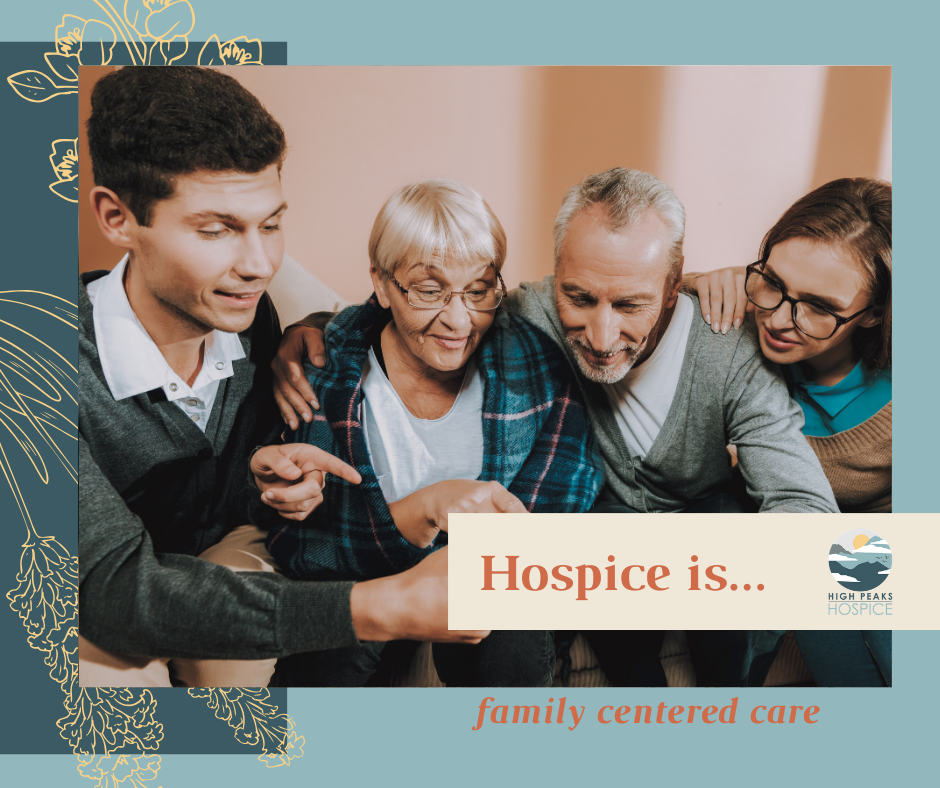 Hospice is...