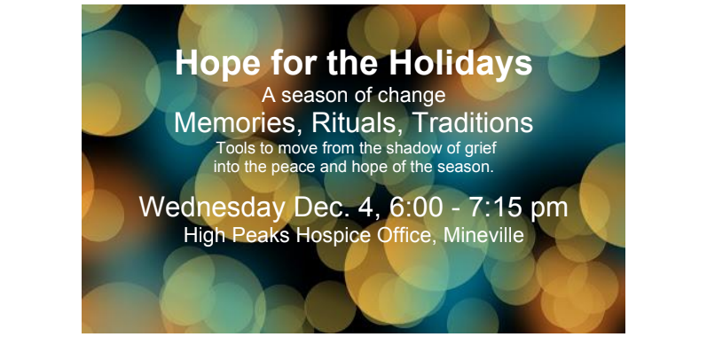 hope for the holidays mineville