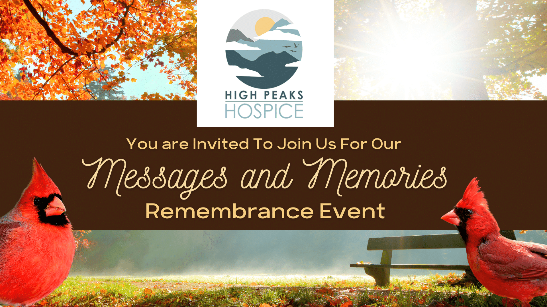 Messages and Memories Remembrance Gathering
