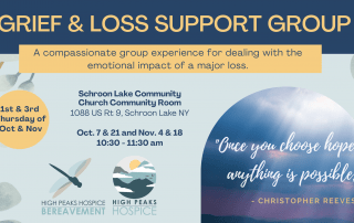 Schroon Lake Grief and Loss Support Group