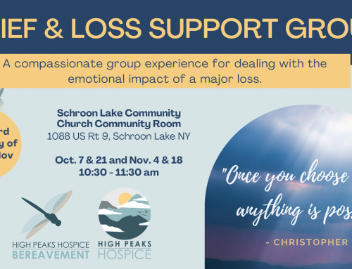 Grief Support Group in Schroon Lake, NY