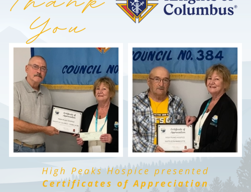 Thank you Knights of Columbus Council # 384!